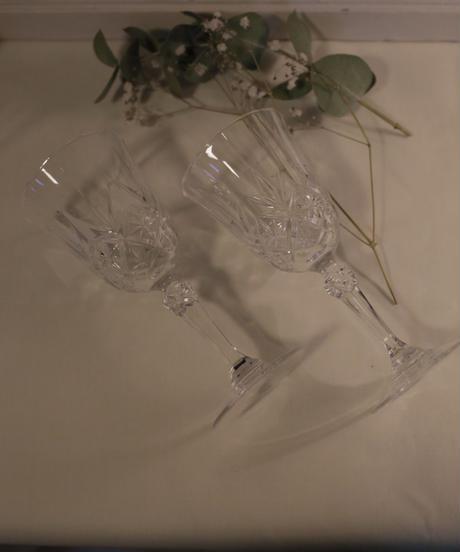 FRENCH crystal mini glass