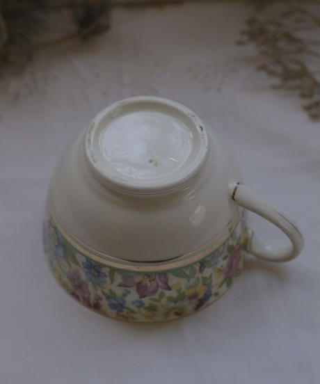 ATQ flower motif cup