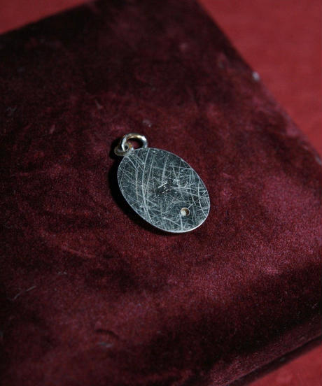 antique church pendant mother of peral