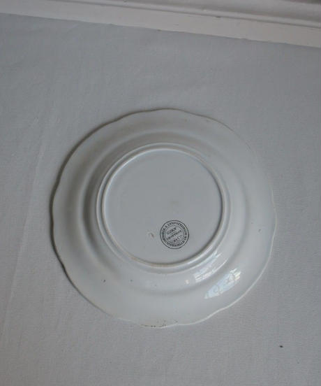 1852s antique gien plate