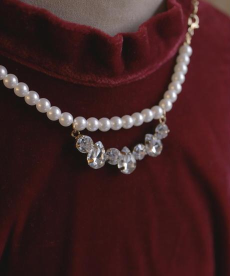 VTG fake pearl necklace