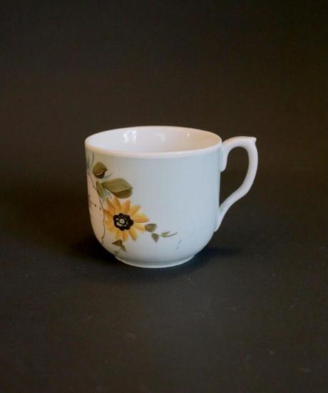 ATQ handpainted cup sunflower