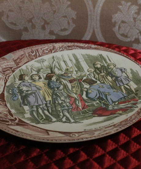 30s Jeanne d'Arc  wall plate