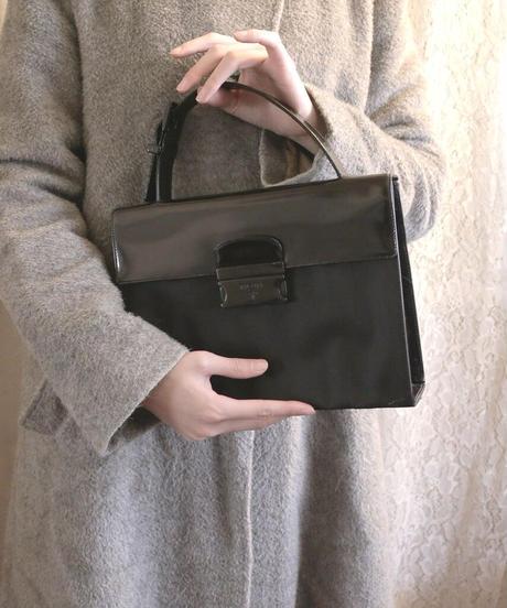PRADA box hand bag