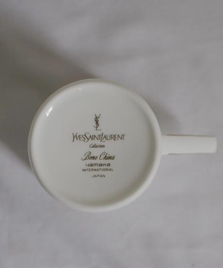 VTG ribbon teacup YVES SAINT LAURENT