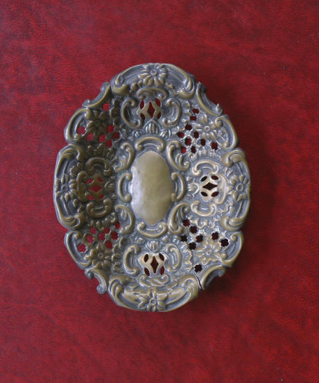 vintage metal tray 1