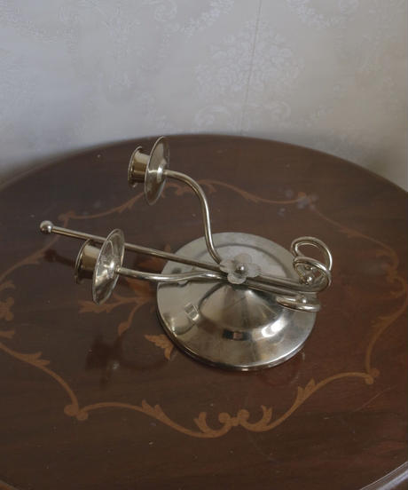 VTG wall candle holder 2 pronged