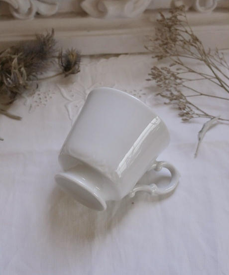 white porcelain cup