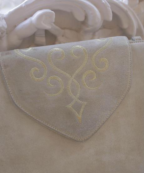 "VTG ""Salvatore Ferragamo"" embroiled bag"