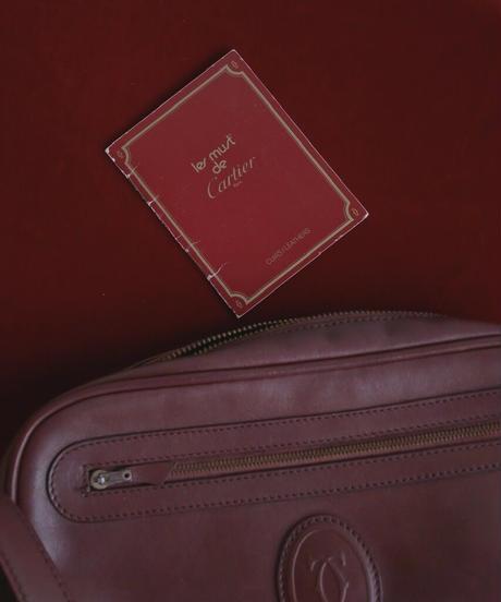 """""""Cartier""""  leather shoulder bag"""