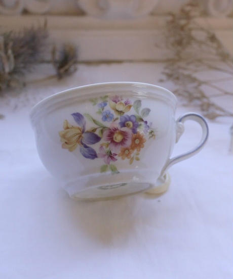 ATQ handpainted cup from east GERMANY