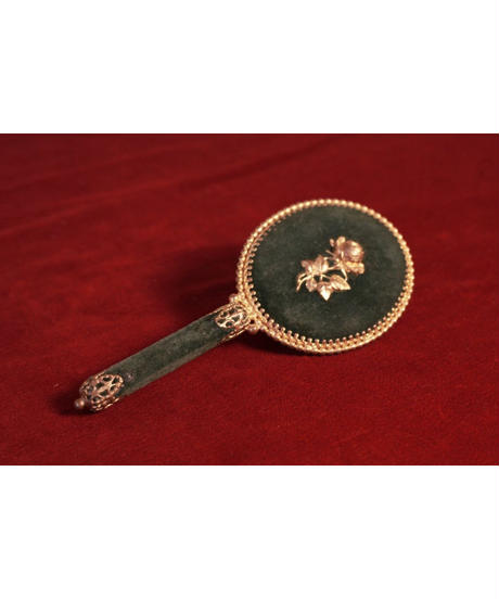 velvet Decoration pocket mirror