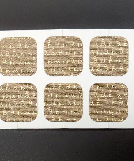 氣スポットチタンシール10枚入 (Ki Spot Titanium Sticker 10 pcs)