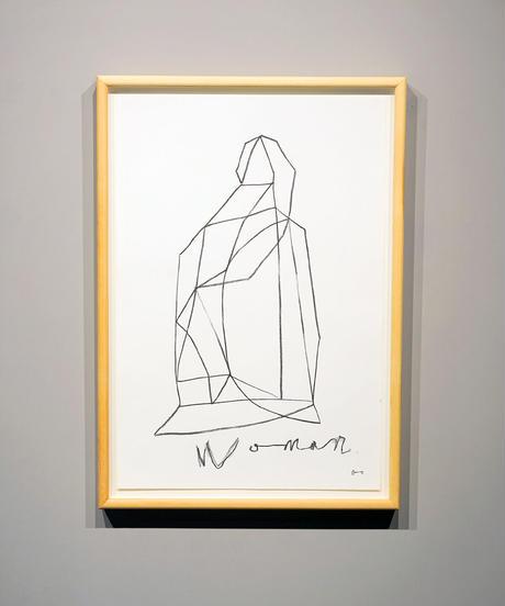 """詩の線 """"Woman / 女""""(原画)"""