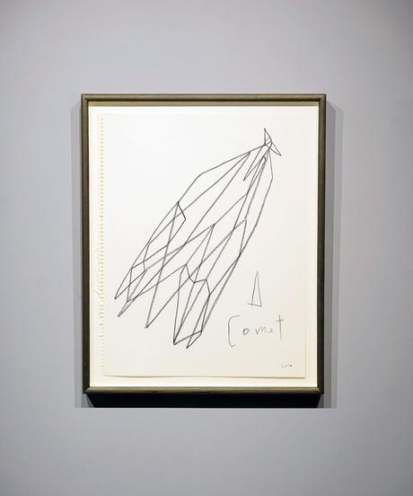 """詩の線 """"A Comet / 彗星""""(原画)"""