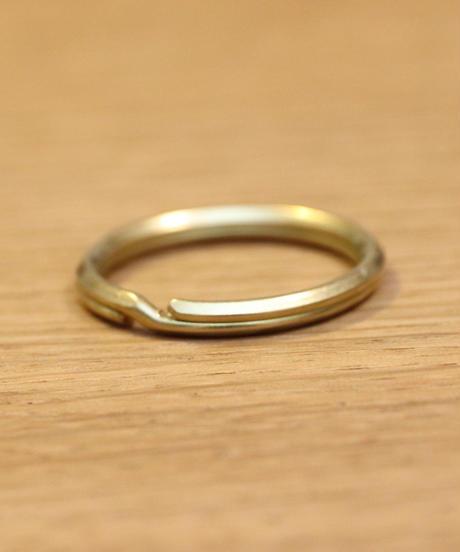 Key ring / 真鍮製2重リング  内径20mm  外径25mm
