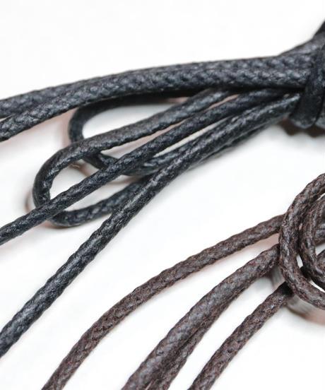 Shoelaces for JM WESTON shoes and others /  ウエストン ゴルフにおすすめです / 芯までロウ引き / ワックスコード / 石目丸紐