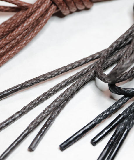 Dark Brown shoelaces for Trickers and others /トリッカーズ カントリータイプ シューレース / 焦げ茶 靴ひも 70cm、110cm、 120cm