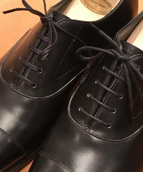 Shoelaces for EDWARD GREEN shoes and others / エドワードグリーン 靴紐 5穴用におすすめです / ロウ引き丸紐 / ドレスシューレース