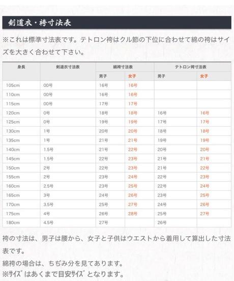 【剣道袴】ソフトウォッシュ加工 正藍染10000番綿袴(各サイズ)
