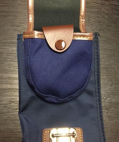 【竹刀袋】ファッションナイロン製ワンタッチ式二本入竹刀袋 横バンド付(大人用)