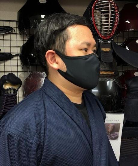 武道用(剣道・居合道)マスク(黒)