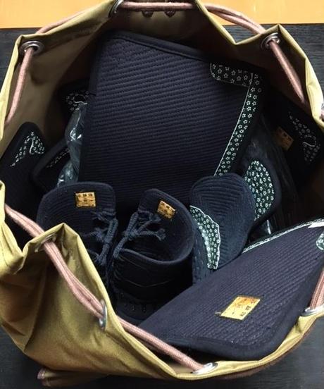 【道具袋】ファッションナイロン製リュック式道具袋(大人用)