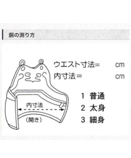 【少年用剣道具一式】(8mmミシン刺)茶リュック式道具袋付(セット販売のみ)