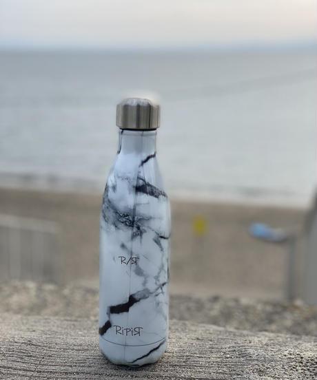 S'well RiPiЯネームボトル(エレメンツ/ホワイトマーブル)17oz・500ml