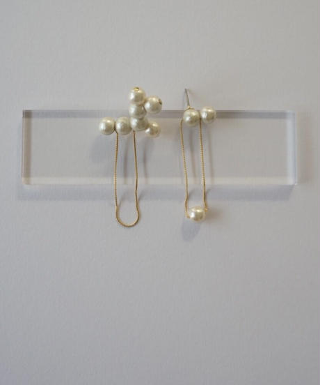 【Now-a-days series】[02] ER-002 / set of 2 (イヤリングorピアス)