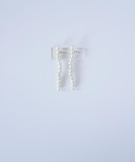 【com 1st Anniversary】Long set (Earring / Pierce)