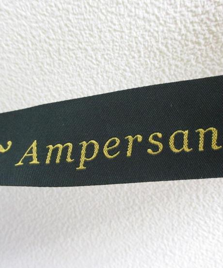 Ampersand マットボストンバッグ M