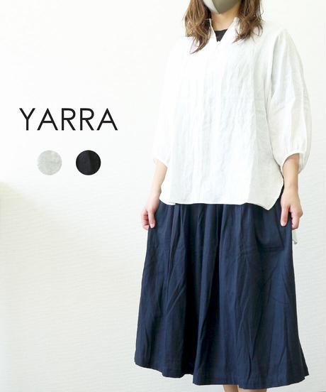 YARRA フレンチリネンスキッパー七分袖プルオーバー
