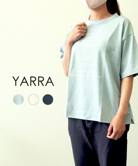 YARRA プリントビッグTシャツDO ACT