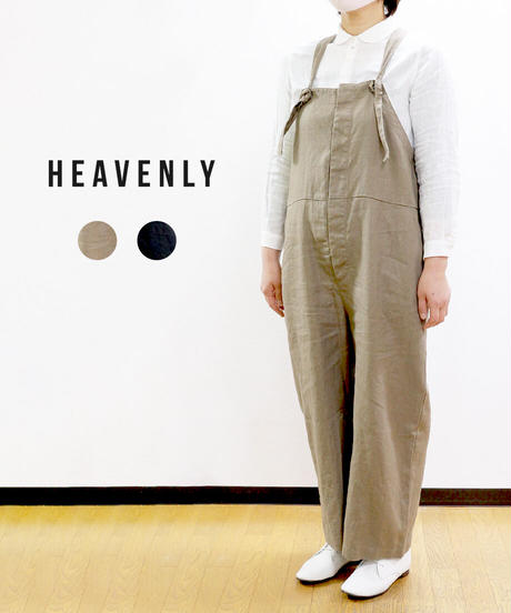 HEAVENLY  ヘビーリネンサロペット