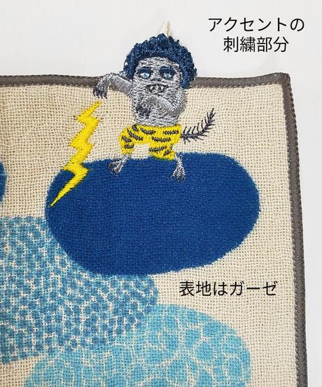 moritaMiW ちいさなポケットハンカチ (ガーゼ・パイル)