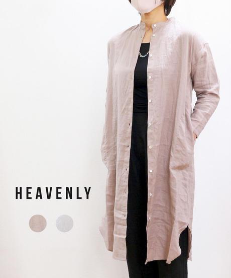 HEAVENLY  リネンクルタシャツ