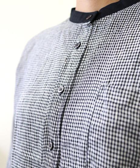 HEAVENLY ベルギーリネン クレリックシャツ
