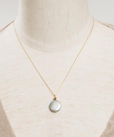 Grey Pearl ネックレス