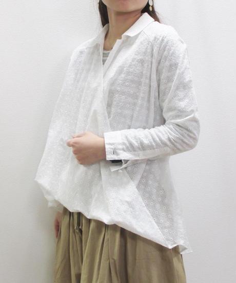 【2019春夏】glaz カットレースツイストシャツ