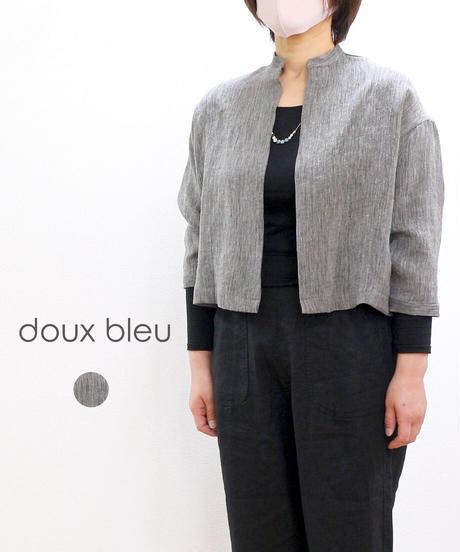 doux bleu ミドルシャツガウン