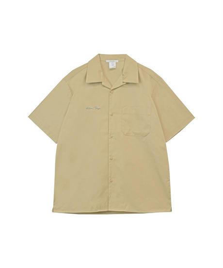AR212SH0504 ユニセックスオープンカラーシャツ