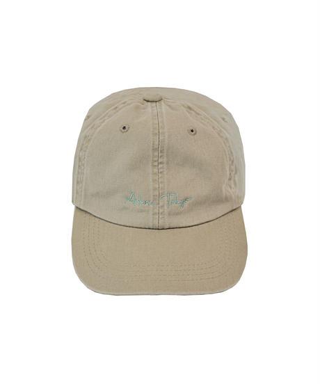 AR213BC0701 ロゴ刺繍ウォッシュドキャップ