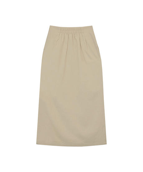 AR212ST0519 SELECTリネンブレンドタイトスカート