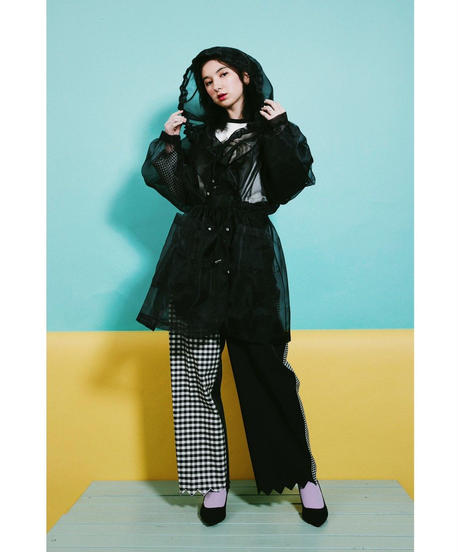 """West witch"" Organdy Parka"