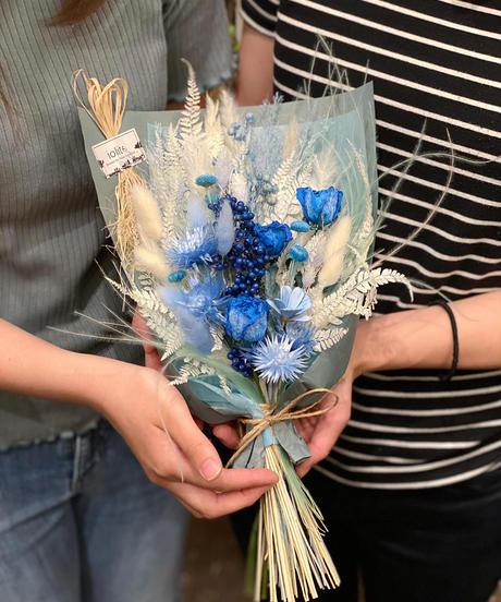 ブルー+any color Sサイズ