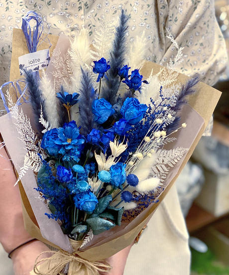 ブルー+any color Mサイズ