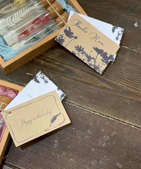 母の日用 メッセージカード