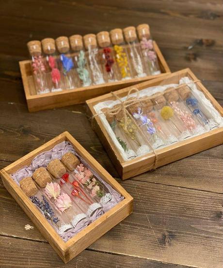 フラワーミニボトル gift box(4本入)