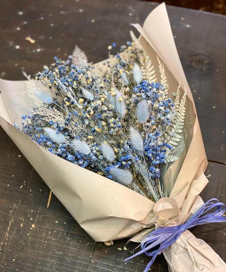 ブルー+any color Lサイズ